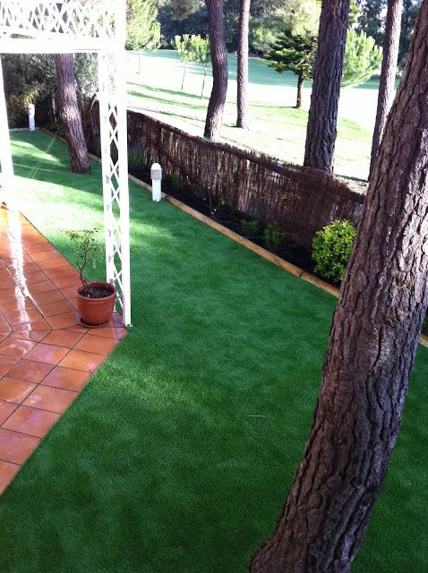 C sped artificial huelva siempreverde jardiner a - Cesped artificial jardineria ...